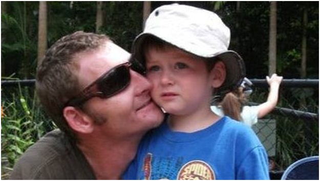 After 20 years as a stonemason Gold Coast father of 6 Adam Emery is facing an uncertain future after being diagnosed with silicosis. Photo: Facebook